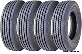 New LEAO 215/75R17.5 16 Ply Rated Deep Tread All Position Truck/trailer Radial Tire - 11129