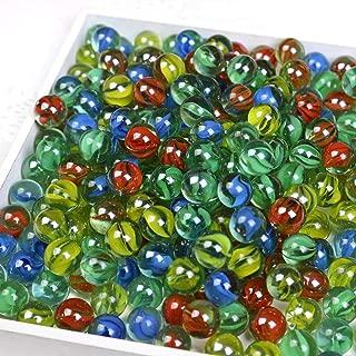 CHU KE Marbles Cats Eyes Glass Marble / Sling Shot Ammo 500 pcs. Size is Approximately 5/8