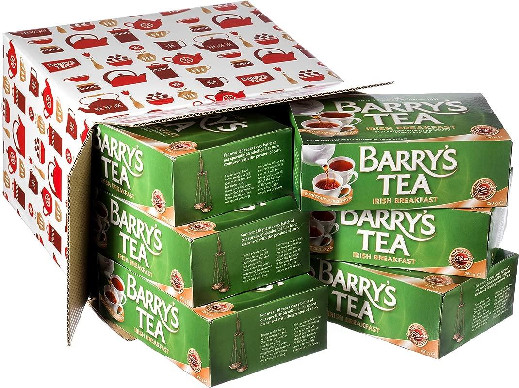 Barry S Tea Original Blend 80 Teabag 6 Pack 6 X 8 8oz Direct From Barry S Tea In Cork Ireland