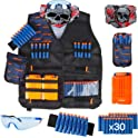 Little Valentine Kids Tactical Vest Kit for Nerf Guns N-Strike Series
