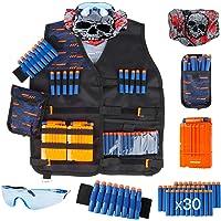 Little Valentine Kids Tactical Vest Kit for Nerf Guns N-Strike Series