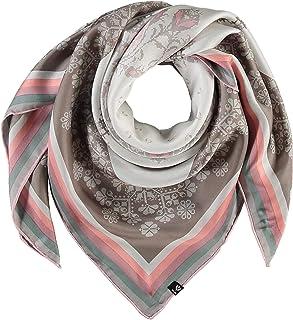 Fraas wollschal floral multicolore étole multicolore hiver pure laine Foulards