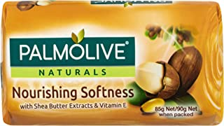 Palmolive Naturals Bar Soap Nourishing Softness Shea Butter Extracts and Vitamin E 4 x 90g
