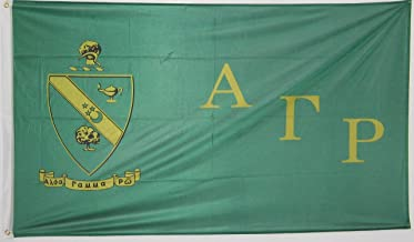 Greek Star Alpha Gamma Rho Official 3' X 5' Flag - Officially Approved