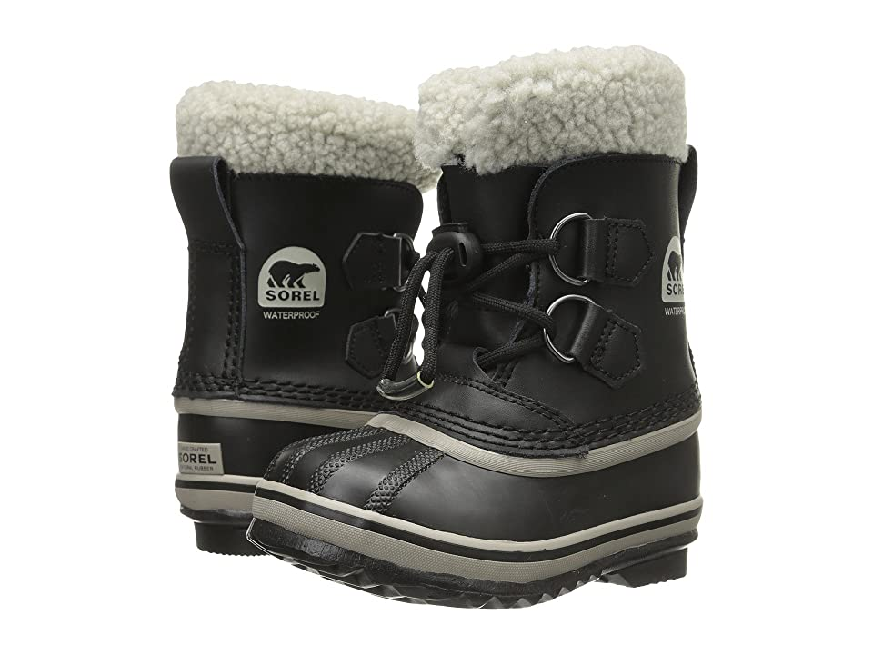SOREL Kids Yoot Pactm TP (Toddler/Little Kid) (Black) Kids Shoes