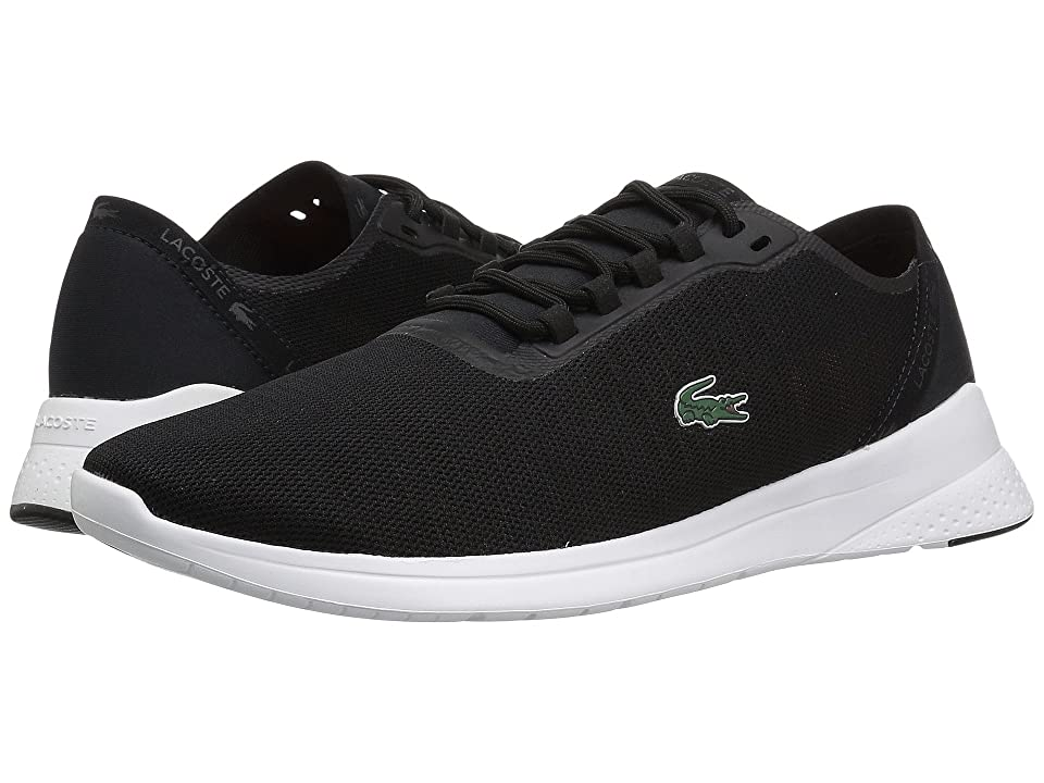 Lacoste LT Fit 118 4 (Black/Dark Grey) Men
