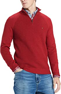 Tommy Hilfiger Mens Textured Full-Zip Cardigan Sweater Choose Color 2XL 3XL
