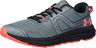 Under Armour Men's Charged Toccoa 3 Sneaker, Lichen Blue (400)/Black, Numeric_15