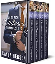 The Sweet Billionaire Romance Boxset: Book 1 to 4 (Rages to Riches 10)