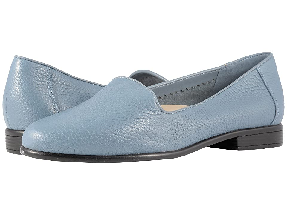 Trotters Liz Tumbled (Blue Very Soft Leather) Women