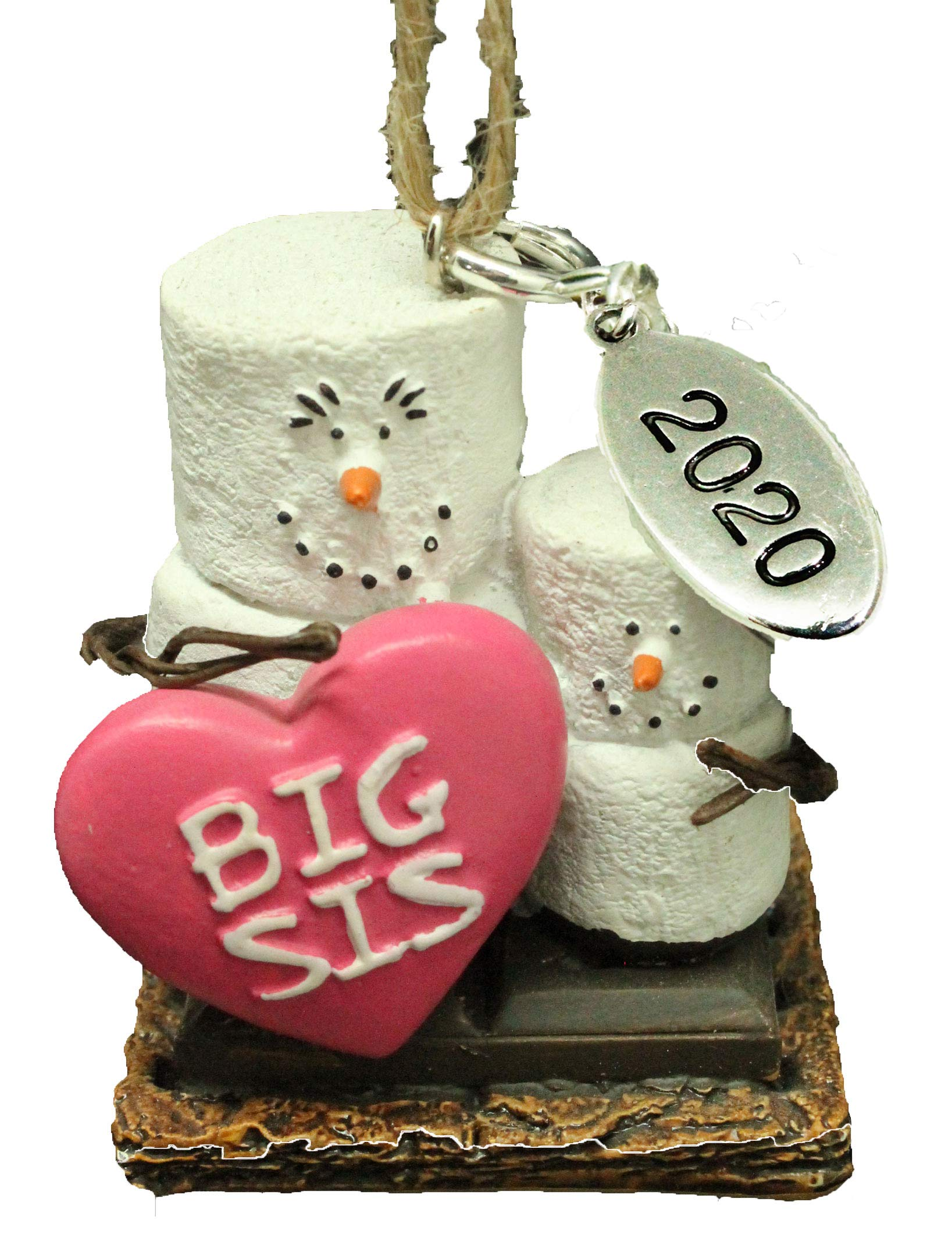 2020 Big Christmas Box Gifts Amazon.com: Twisted Anchor Trading Co Smores Ornament   Big Sister
