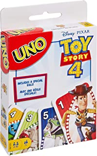 Disney Toy Story 4 Movie Line-Uno, Multi-Colour, GDJ88