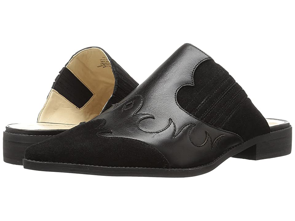 Nine West Sadrah (Black/Black Leather) Women