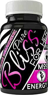 Pure Bliss Clinical Strength Mood Boosting Fat Burner With No Jitters • Boosts Energy • Improves Focus • Elevates Mood • Reduces Hunger • Green and Black Tea Extract •Made in The USA • Vegan Friendly