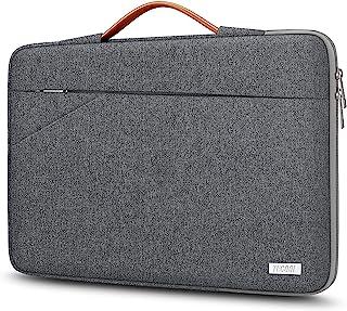TECOOL 14 Pouces Housse Ordinateur Portable, Pochette Protection Sacoche avec Poignée pour 14 Pouces HP Lenovo Thinkpad Id...