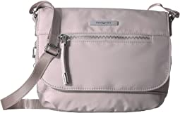 Shimmer RFID Crossbody with Flap
