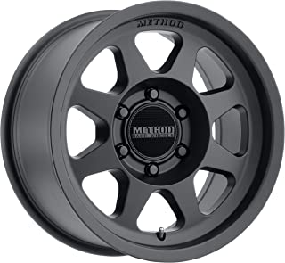Method Race Wheels MR701 Matte Black Wheel with Painted (17 x 8.5 inches /6 x 120 mm, 0 mm Offset)