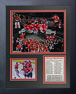 Legends Never Die NHL Chicago Blackhawks Framed Photo Collage, 2015 Stanley Cup Champions, 11