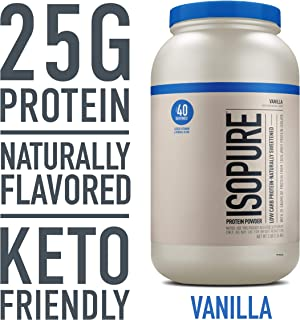 Isopure Whey Protein Isolate - 1.36 kg (Natural Vanilla)
