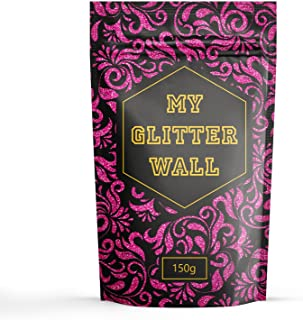 Hot Pink 150G My Glitter Wall Glitter for emulsion paint glittery wall decorations perfect for indoors and outdoors