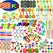 CozyBomB Party Favors for Kids Prizes - 200 pcs Bulk Assortment Toys Best for Birthday Party Giveaways or Carnival and Classroom - Great Treasure Box, Goodie Bag, Pinata or Easter Egg Fillers