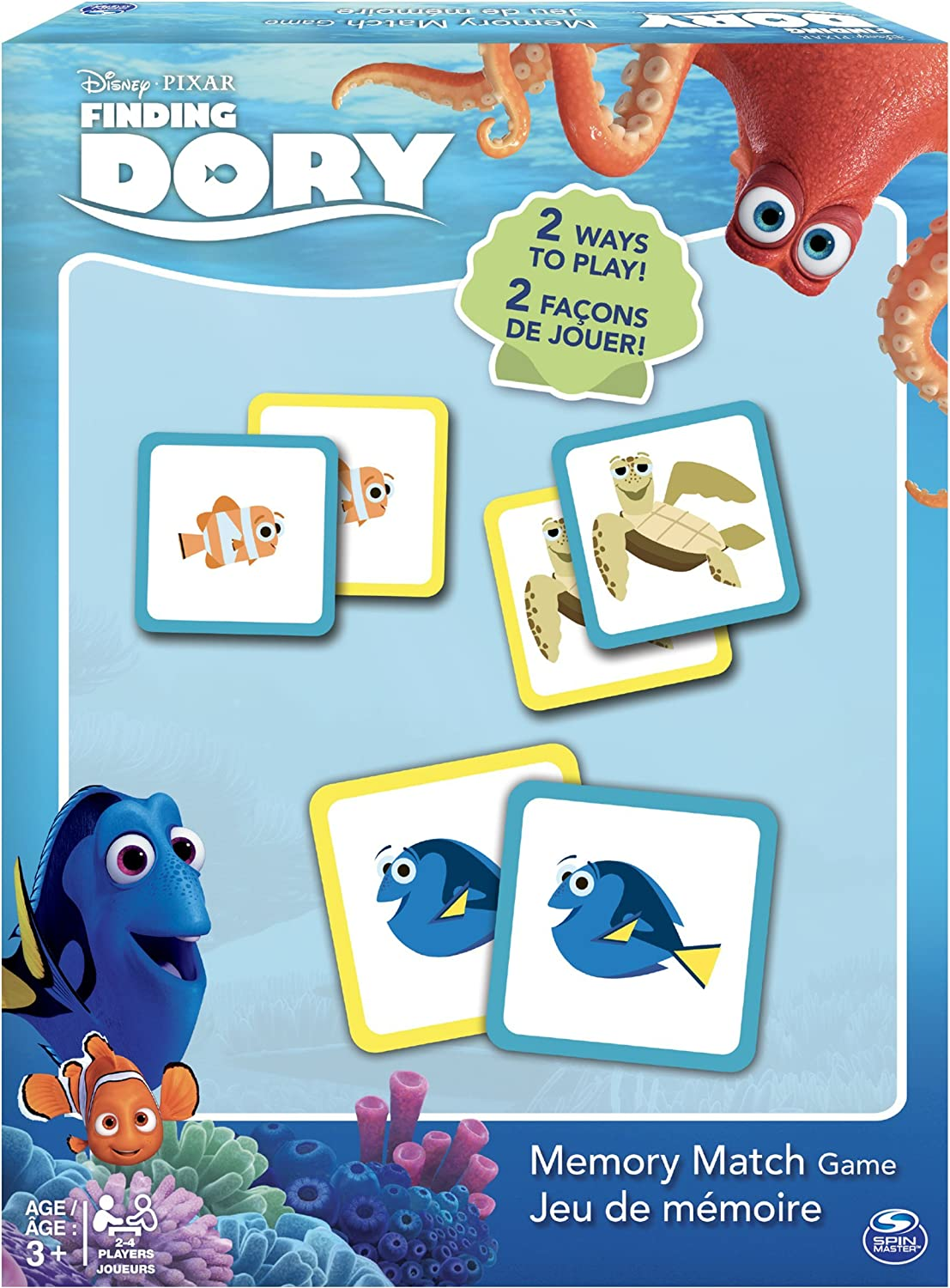 Spin Master Games  Finding Dory  Memory Match
