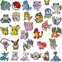 Patch Iron-On Water Type Pokemon Staryu Embroidered Applique Patches For Kids