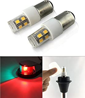 SRRB Performance 12V AC/DC BA15D LED Replacement 90/68/94 Light Bulb for RV Camper Travel Trailer Motorhome 5th Wheels and Marine Boat