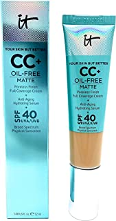 Your Skin But Better CC Cream Oil-Free Matte with SPF 40 - Medium Tan