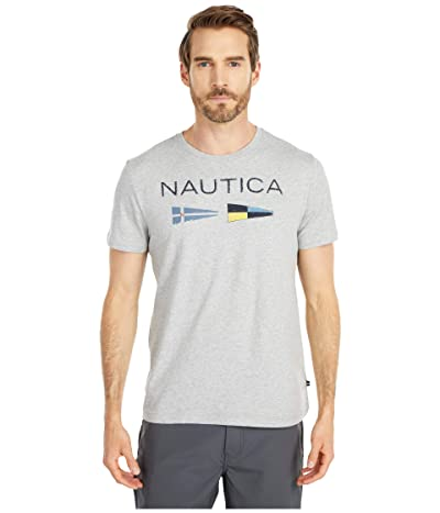 Nautica Nautica Flags Tee (Black) Men