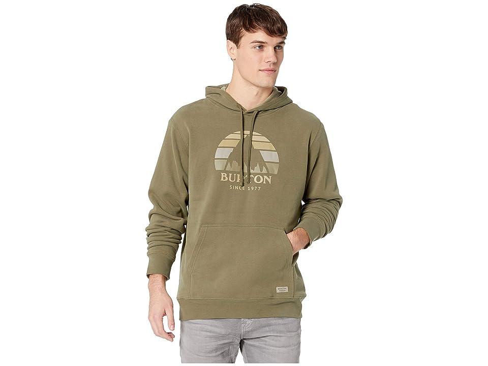 Burton Underhill Pullover Hoodie (Dusty Olive) Men