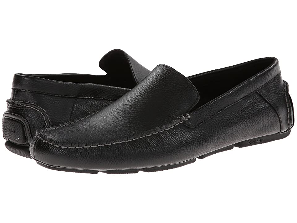 Calvin Klein Menton (Black Tumbled Leather) Men