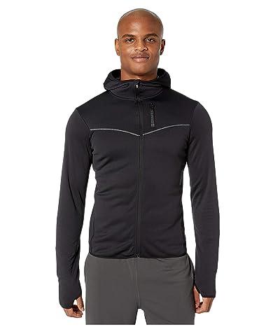 Craft Eaze Full Zip Sweat Hood Jacket (Black) Men
