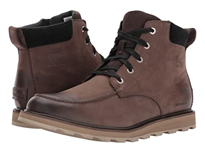 SOREL Madson Moc Toe Waterproof (Bruno/Black) Men