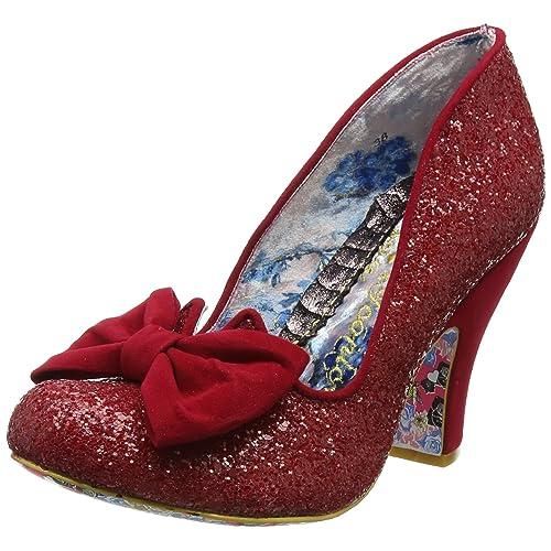 utterly stylish new authentic wholesale online Red Glitter Shoes: Amazon.co.uk