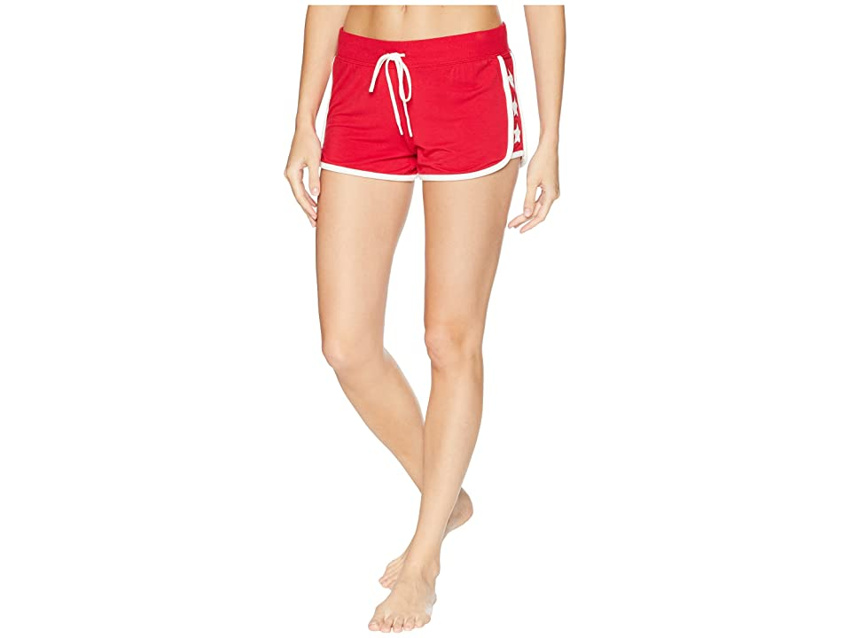 P.J. Salvage 76 Vibes Shorts (Red) Women