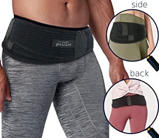 Vriksasana Si Belt for Men and Women That Treat Sciatica, Including Pelvic, Back and Leg Pain Nerve Pain, Stabilize Sacroiliac Joint | Trochanter Brace | Anti-Slip and Pilling-Resistant (REGULAR SIZE)
