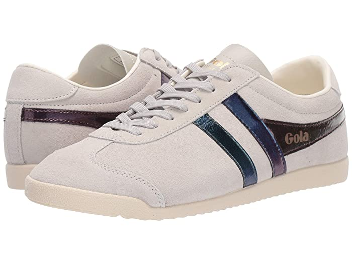 Vintage Sneakers for Men and Women Gola Bullet Flash Off-WhiteMulti Womens Shoes $59.67 AT vintagedancer.com