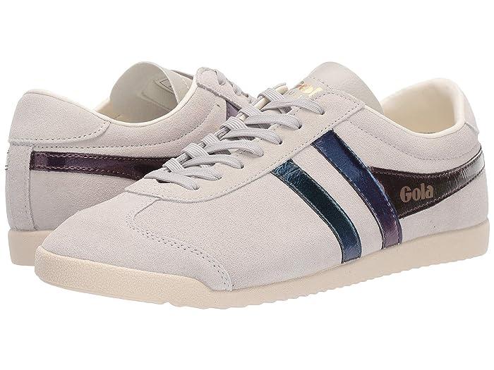 Retro Sneakers, Vintage Tennis Shoes Gola Bullet Flash Off-WhiteMulti Womens Shoes $58.14 AT vintagedancer.com