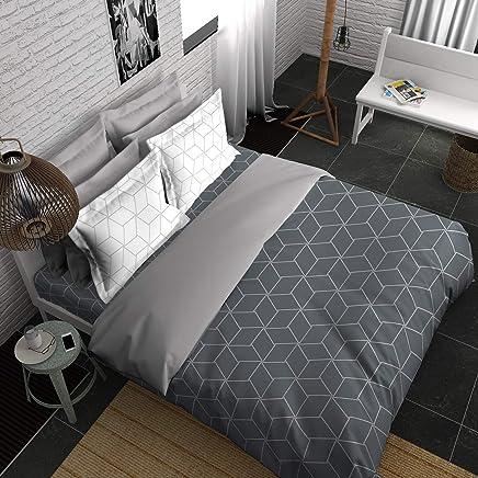 9fa9cc20de Boutique Living India ME GEO'S 210TC Printed King Size (274 cm x274 cm)  Bedsheet