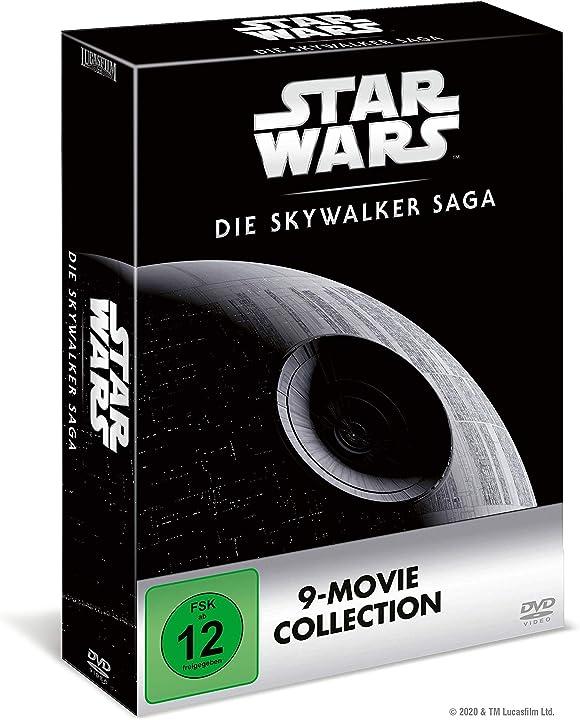 Star wars 1-9 - die skywalker saga dvd edition walt disney B084ZQR1MQ