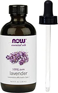Lavender Oil, 4 oz, From NOW (4 OZ + Glass Dropper)