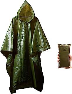Lightweight Rain Gear Poncho Emergency Survival Cover Shelter Norwegian Military Surplus
