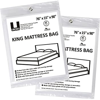 King Mattress Cover - 2 Pk