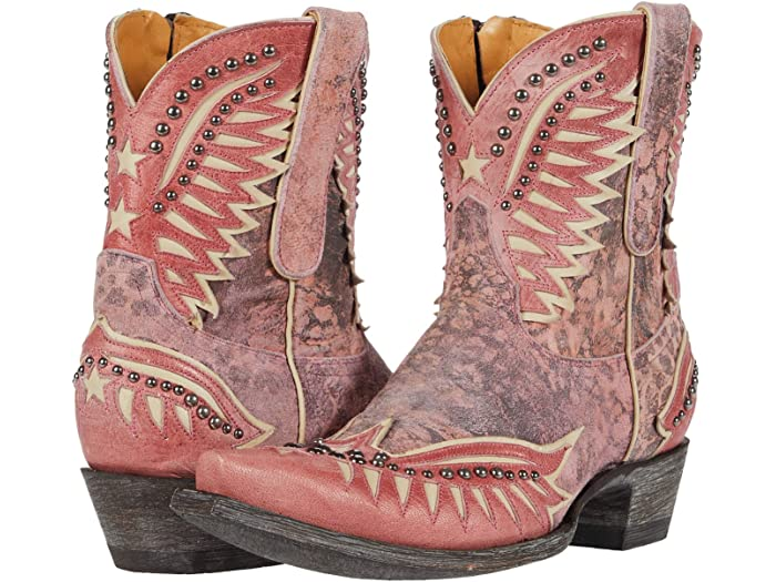 Old Gringo Dawn Pipin Boots in Pink