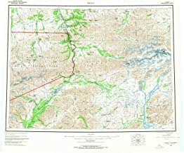 YellowMaps Healy AK topo map, 1:250000 Scale, 1 X 3 Degree, Historical, 1956, Updated 1966, 22.9 x 26.9 in