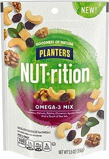 NUTrition Omega 3 Snack Nuts Mix (5.5 oz Bag)