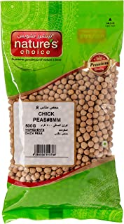 Natures Choice Chick Peas - 500 gm (Beige)