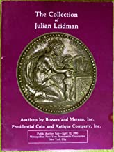 Th Julian Leidman Collection of Hard Times Tokens Auction Catalog - Session IV (New York, Apr 12, 1986)