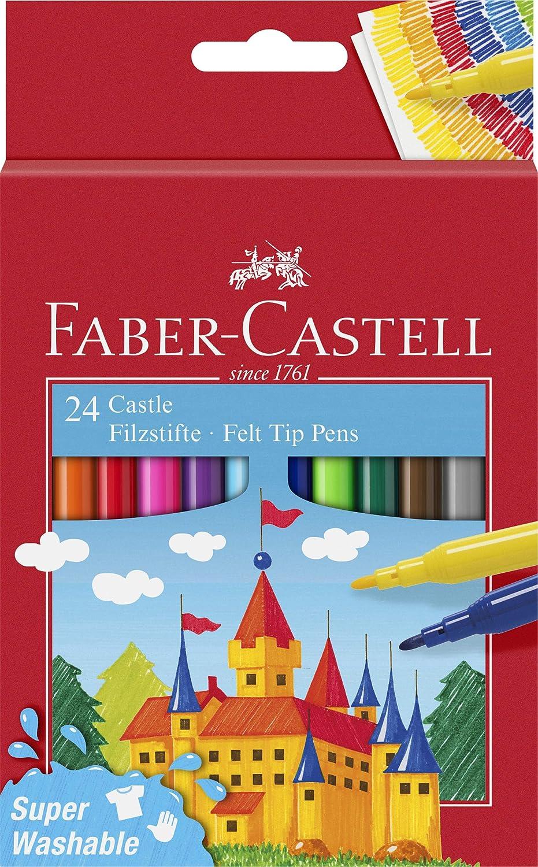 Filzstift Castle 50er Kartonetui Faber-Castell 554204